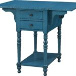 darcell blue accent table tables colors aqua knotty pine dining set threshold transition chair cushions patio bistro hexagon target mirrored console cabinet bright colored coffee 150x150