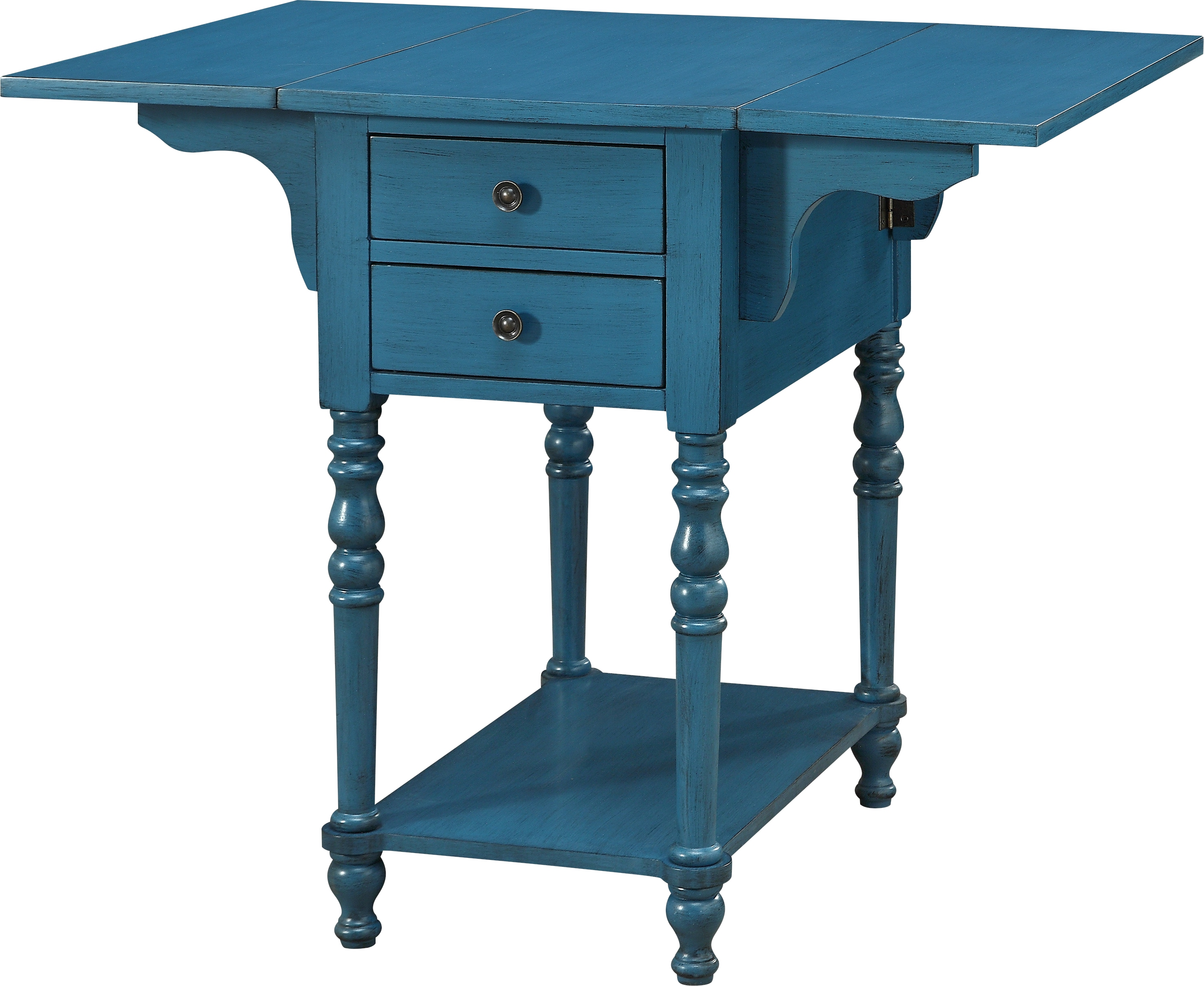darcell blue accent table tables colors aqua knotty pine dining set threshold transition chair cushions patio bistro hexagon target mirrored console cabinet bright colored coffee