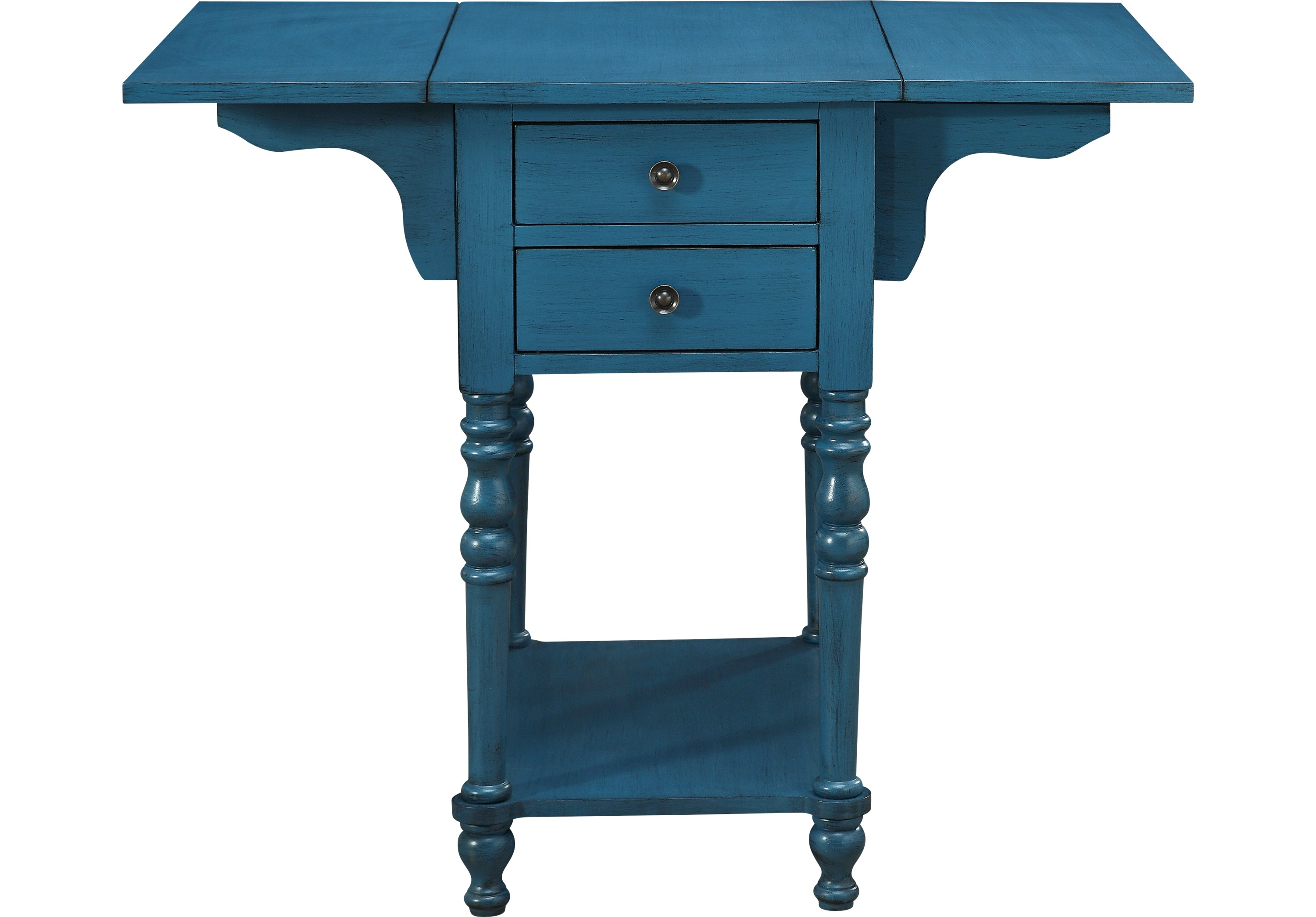 darcell blue accent table tables colors aqua product chair cushions pine desk work light inch nightstand room essentials silver drum side art deco lighting black razer ouroboros