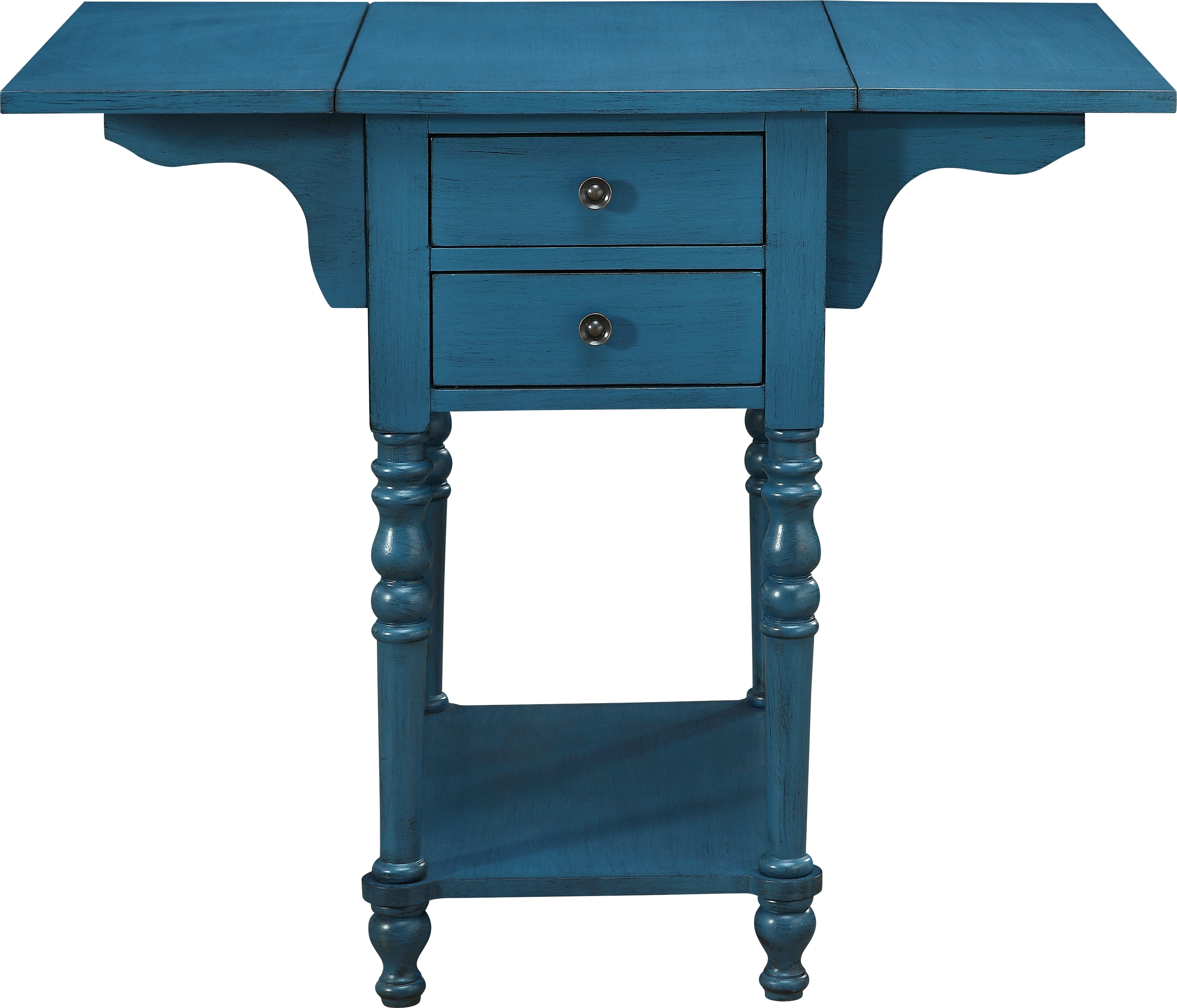 darcell blue accent table tables colors teal clear plastic mirrored console with drawers white curtains target tall stools clearance dining room chairs lounge square lucite drop