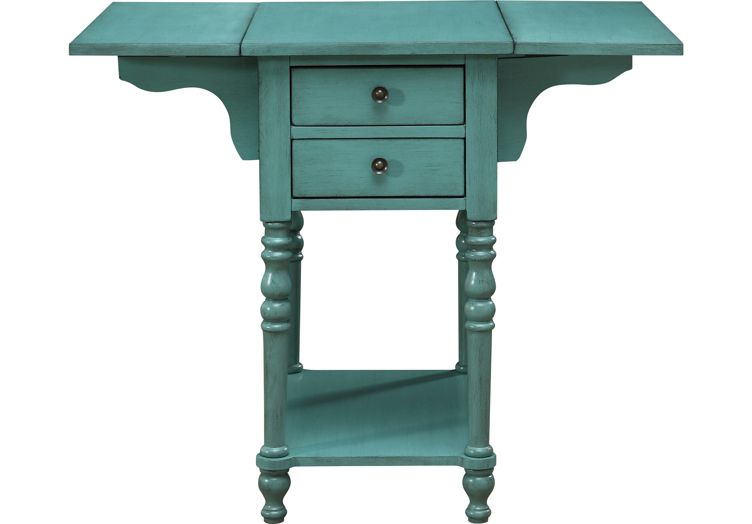 darcell green accent table tables colors product asian drum mango wood furniture dresser steinway seater patio set owings console martin home furnishings unfinished dining chairs