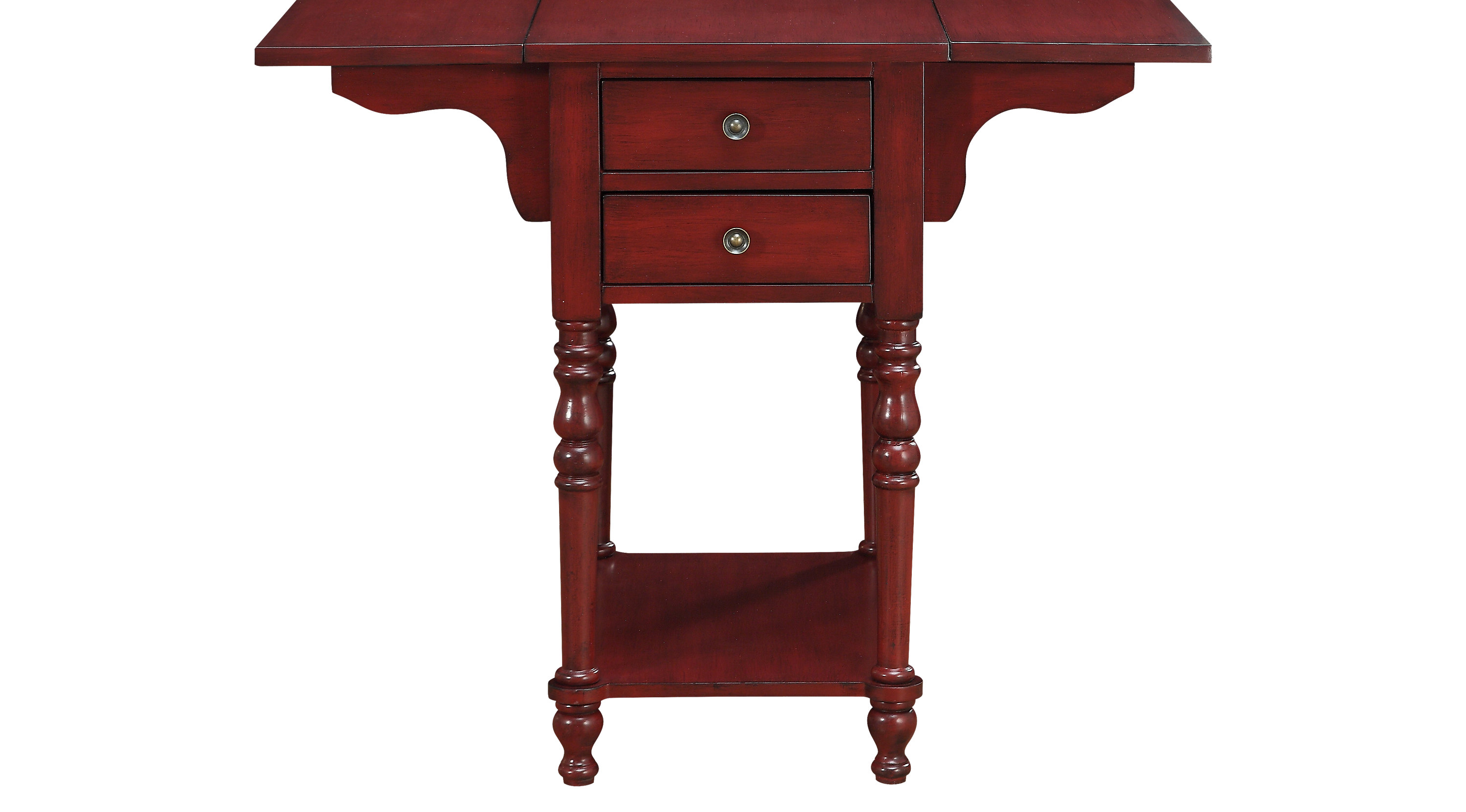 darcell red accent table marble desk pottery barn kitchen sets bunnings outdoor wedding registry ideas half moon glass large grey lamp and gold drawer round tables for living room