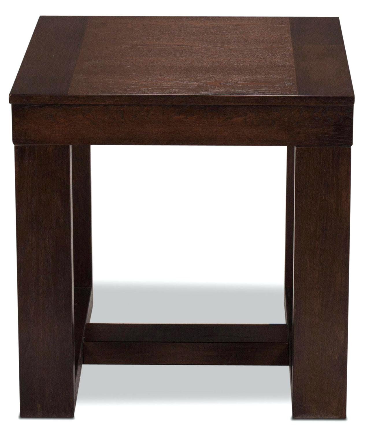 dark brown accent table home library ideas and occasional furniture end organization diy smart magazine beach themed lamps small round with drawer magnussen sofa copper marble