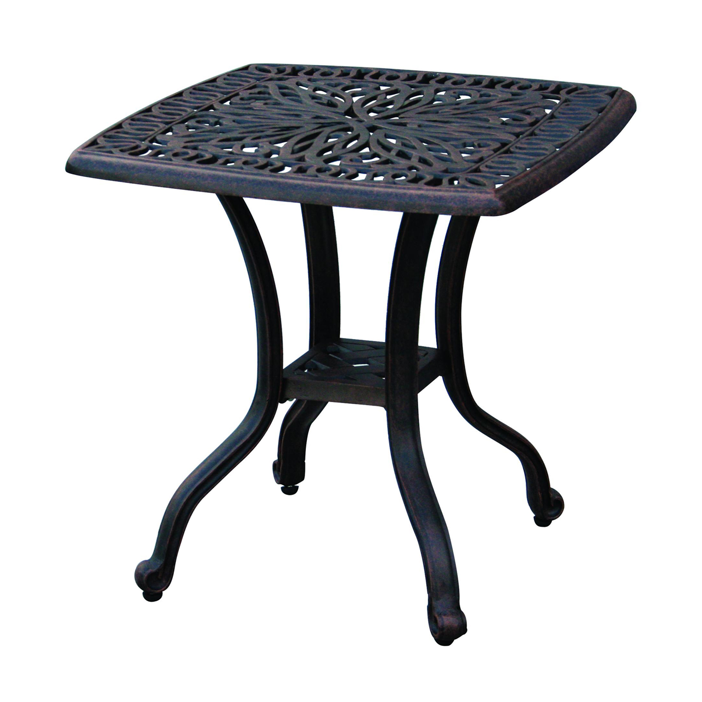 darlee elisabeth square end table atg modern accent trestle target outdoor tables clear acrylic cocktail bar height dining knotty pine stools mosaic ikea couch covers mini tiffany