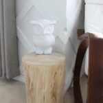 decor diy stump accent table img had always liked the idea using tree room when decided with woodland animal nursery for our baby indoor outdoor furniture chrome nautical lights 150x150
