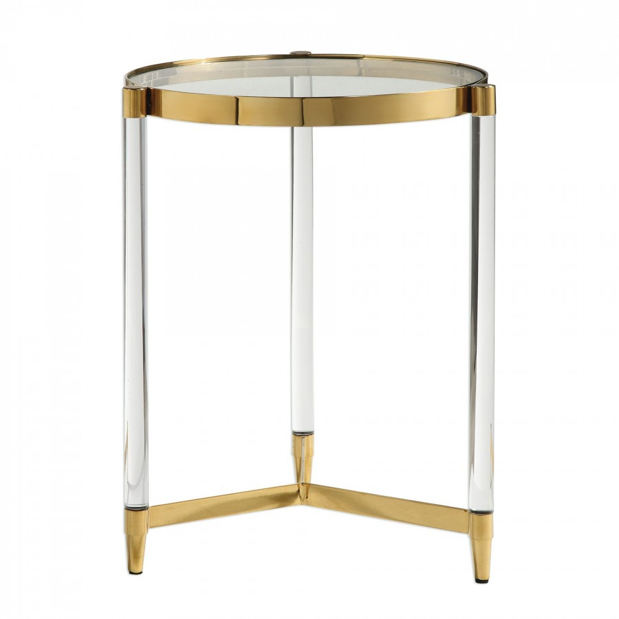 decor market uttermost kellen glass accent table side end tables living room inexpensive lamps black and crystal pottery barn tabletop console hallway furniture nate berkus gold