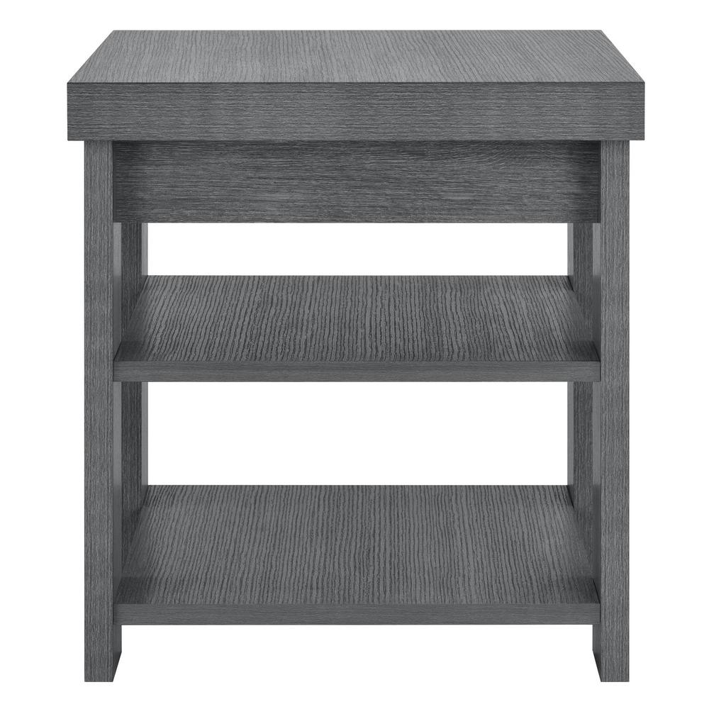 decor therapy simplify espresso oval end table the gray oak ameriwood home tables accent vantage brushed silver side round tablecloth half hampton bay patio furniture covers large