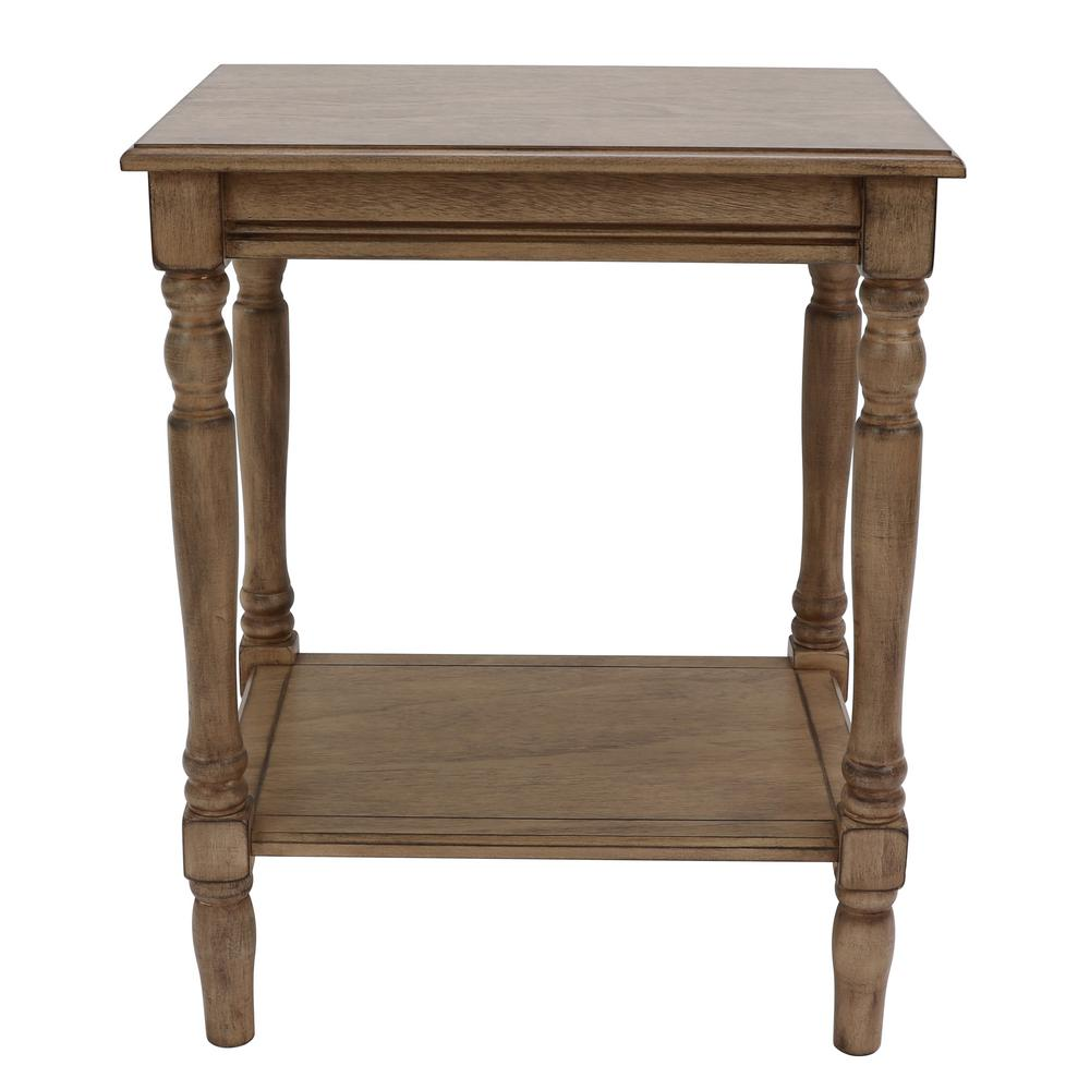 decor therapy simplify oak end table the sahara tables oval accent wide mirrored bedside patio cover small side wheels round tablecloth garden storage solutions antique console