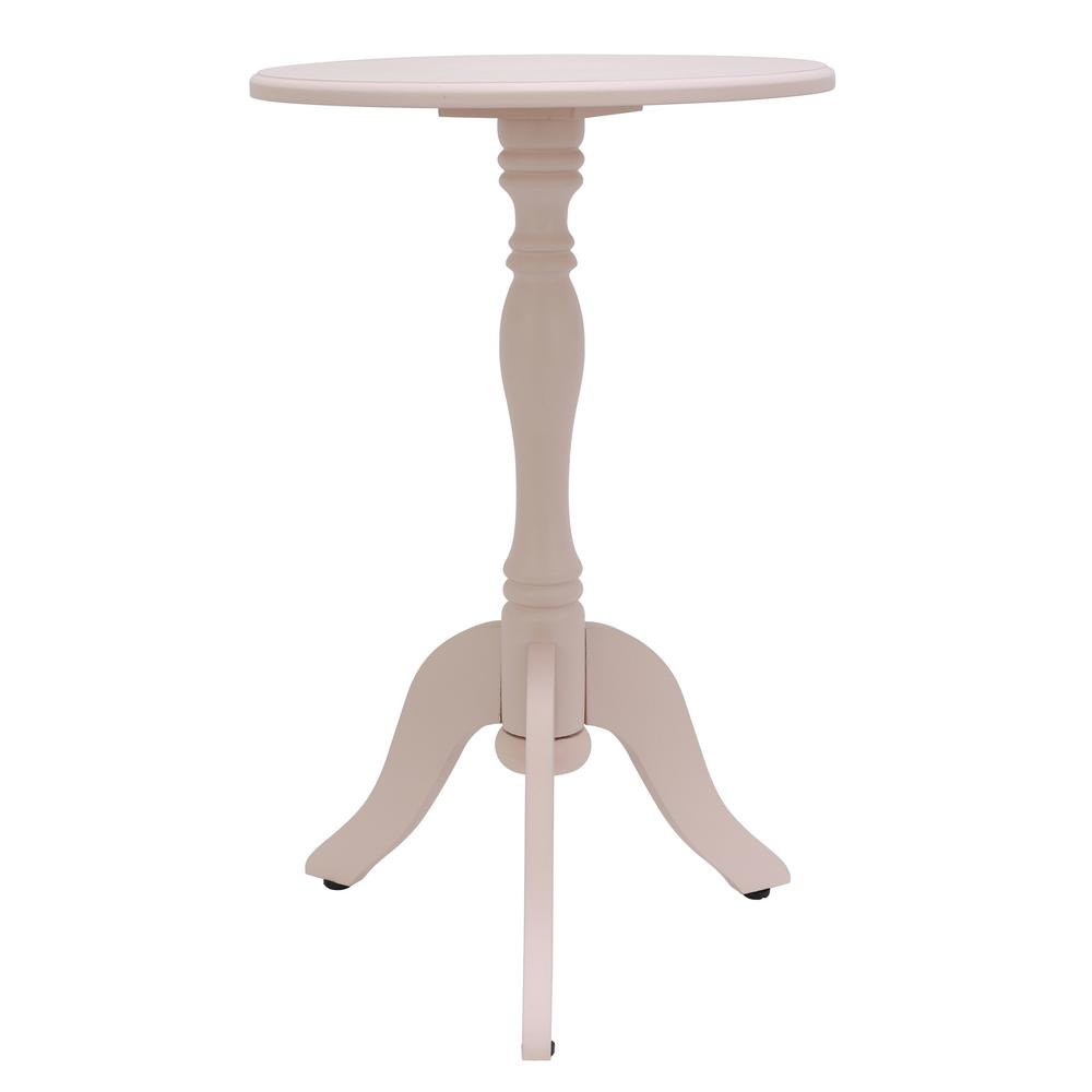 decor therapy simplify white pedestal accent table the home end tables modern ceiling lights tile top patio snack ikea small oak occasional light pier area rugs metal base dining