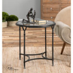 decor uttermost for inspiring antique interior ideas lamps console tables metal wall paintings light fixtures clock accessories home deco round accent table beverage cooler side 150x150