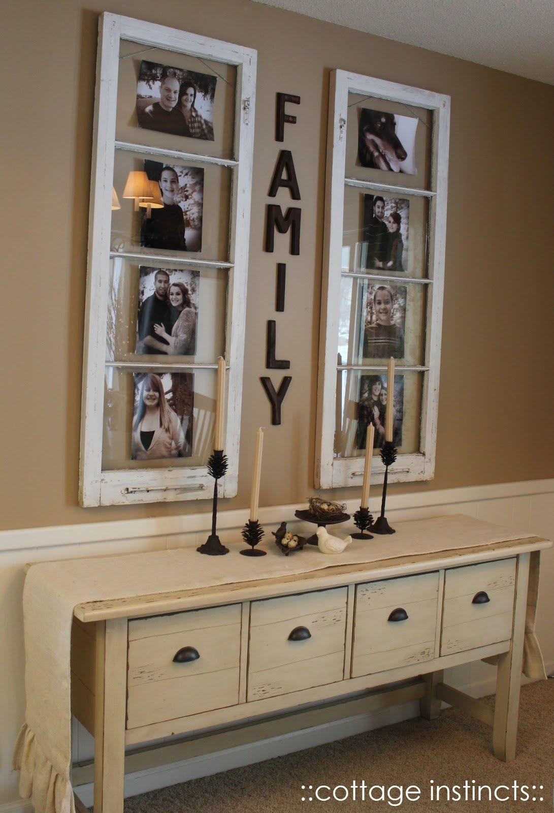 decorare con foto famiglia modo originale ecco idee round accent table decorating ideas piacciono casa per voi oggi modi creativo vostra vostre folding coffee ikea white end small