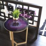 decorate collection side tables kailo chic life agate table glass accent purchased this fun and gold world market for originally still completely infatuated with mineral home 150x150