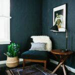 decorating ideas for living rooms blue fresh gray room why dark walls work small spaces design sponge accent table dale tiffany desk lamp decoration piece home mini bedside market 150x150