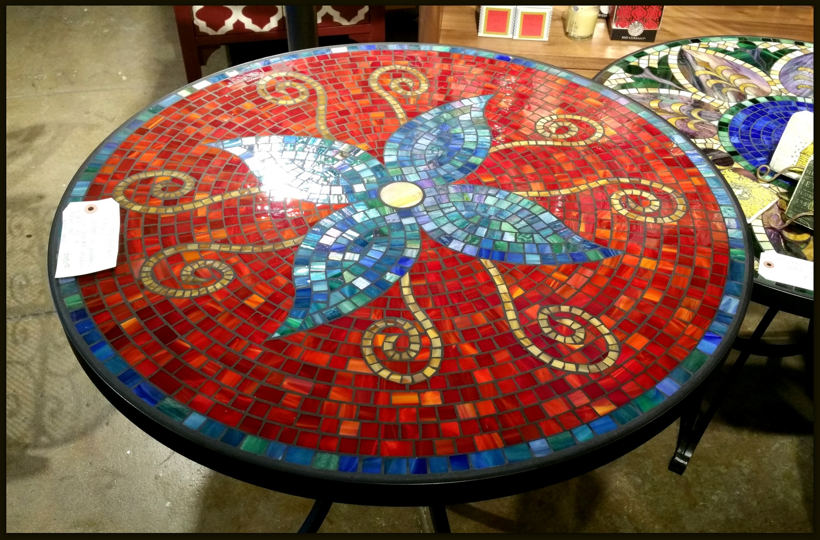 decorating mosaictable bistro set mosaic tile outdoor side table how patio and chairs diy tabletop ideas full size acrylic nesting end tables plexiglass coffee target console
