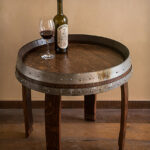 decorating old wine barrels making rack pub table with chairs made from french and barrel accent full size brown wicker bamboo lamp high end side tables red chest small round 150x150