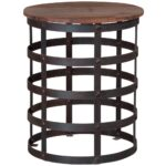 decoration round metal accent table with small occasional side tables perspex living essentials curtains hanging barn doors foyer cabinet furniture decorative storage cabinets 150x150