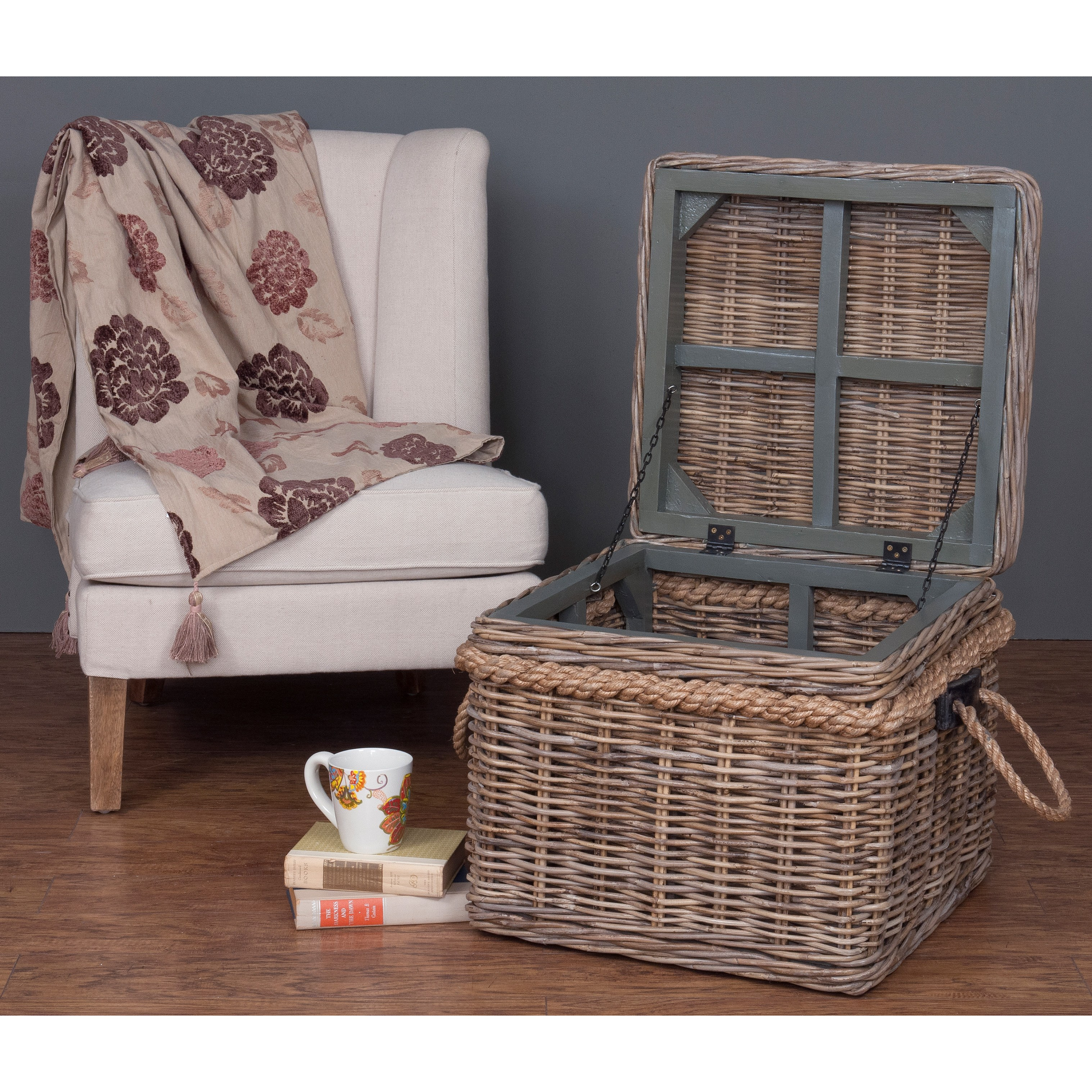 decorative casual storage accent table free shipping off white square wicker today victorian occasional mirrored cube side round patio and chairs high chair set contemporary