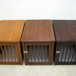 decorative pet crates fabulous crown products crate wood table chestnut mahogany and espresso large newport end top wooden with furniture refinishing pottery barn accent tables 150x150