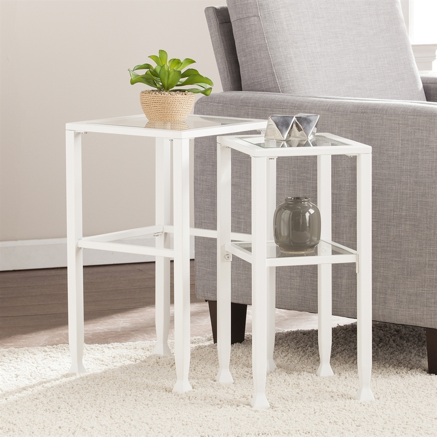 delectable glass accent table sets rita hawthorne living top green ledger lamp tables high metal contemporary avenue round mercury lorelei isaac room frosted usb cylinder blue