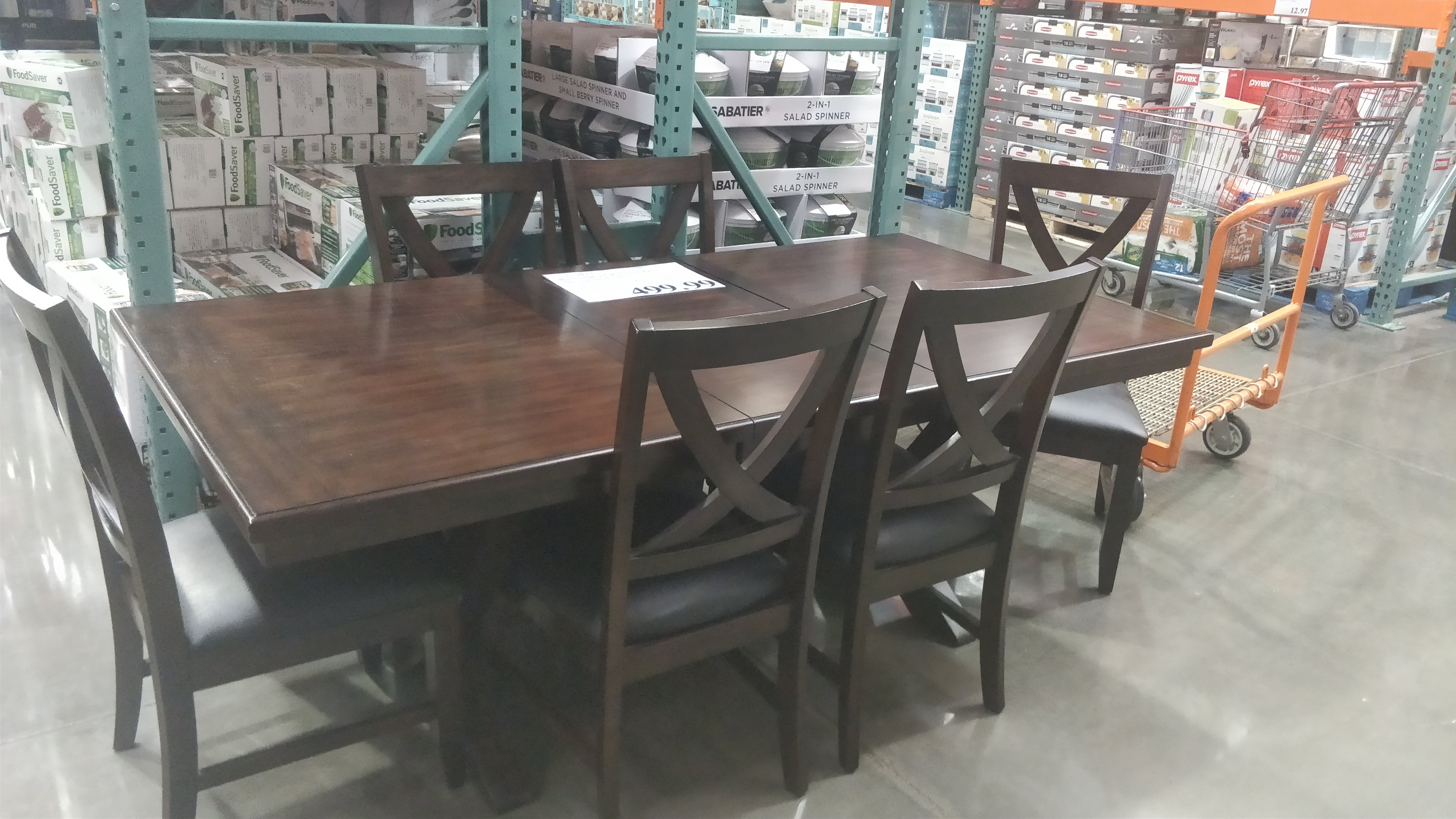 delightful piece dining set bayside whalen sling outdoor woven valaria international patio furnishings fire high accent table full size console with baskets bargain furniture