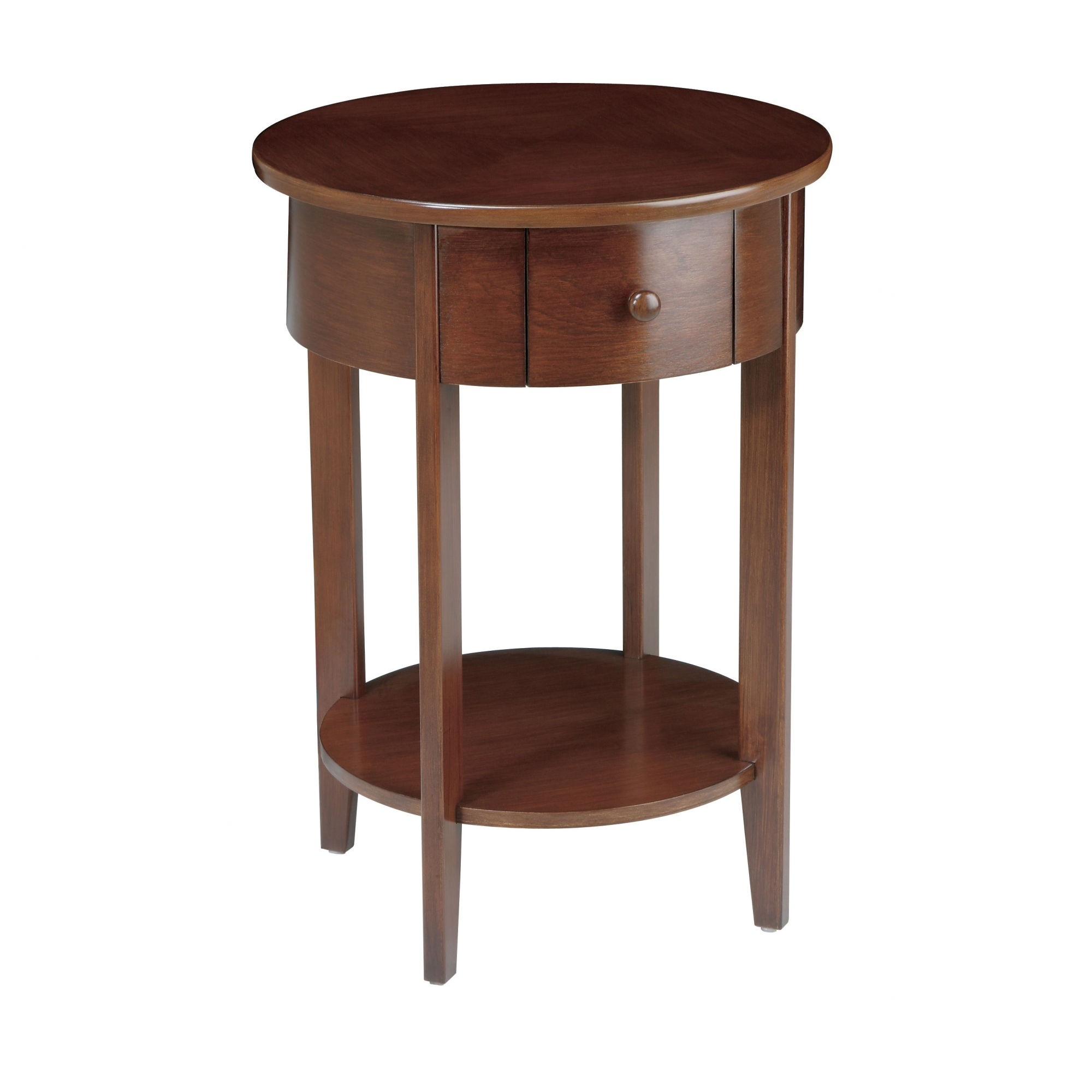 delightful unfinished round end tables pedestal legs wood farm and night oak cape for rent argos room kitchen table wooden furniture town childrens childs small polokwane rental
