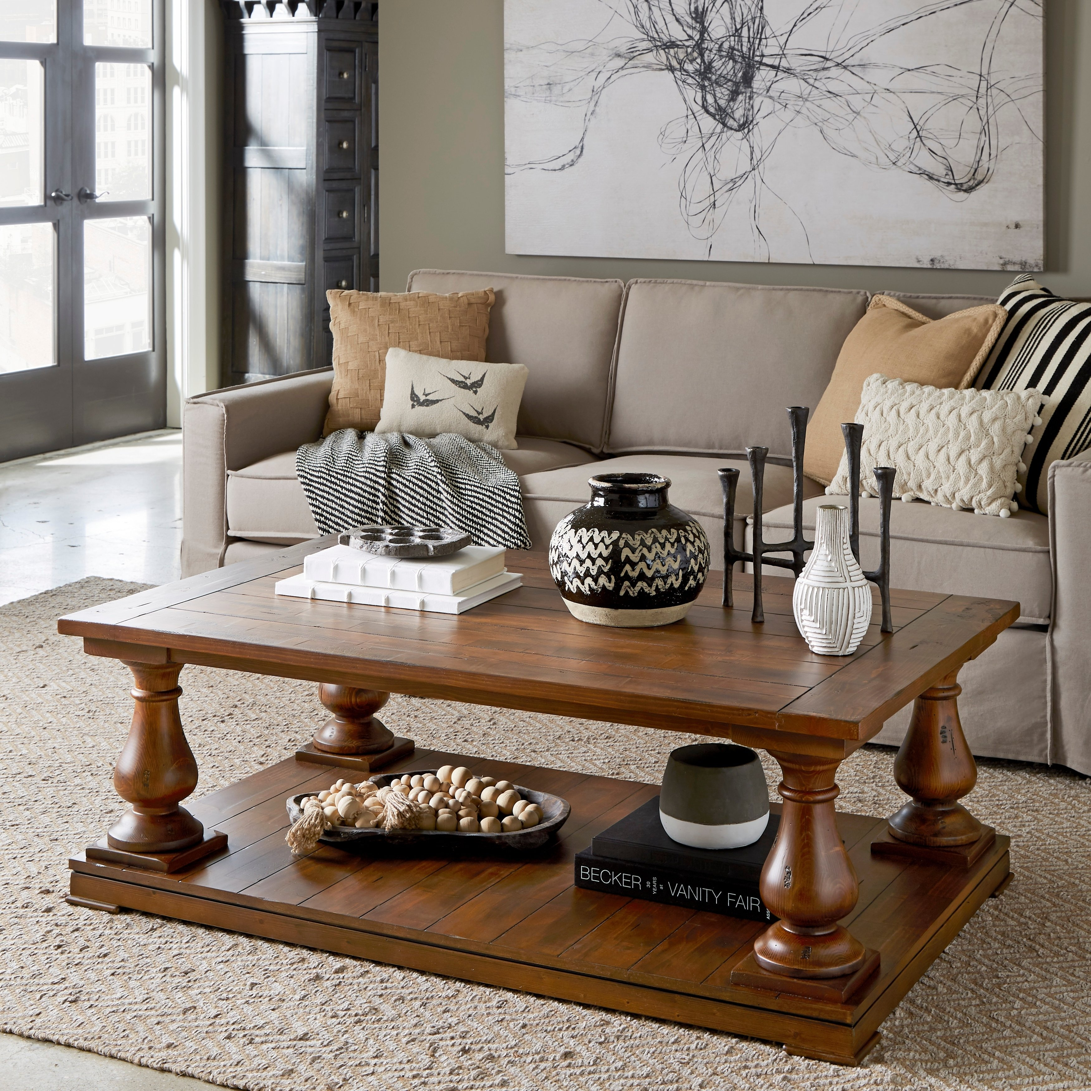 densbury traditional rustic natural pine coffee table pottery barn jamie accent free shipping today coastal lamps bronze for bedroom pier one imports dining room tables aluminum