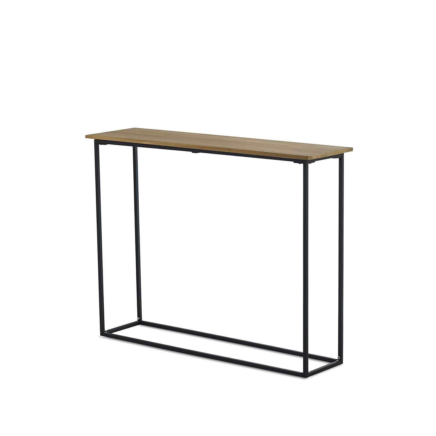 design ideas pietra console table accent modern teak wood and metal end black tan kitchen dining dale tiffany wisteria lamp circle coffee with storage outdoor chairs for balcony