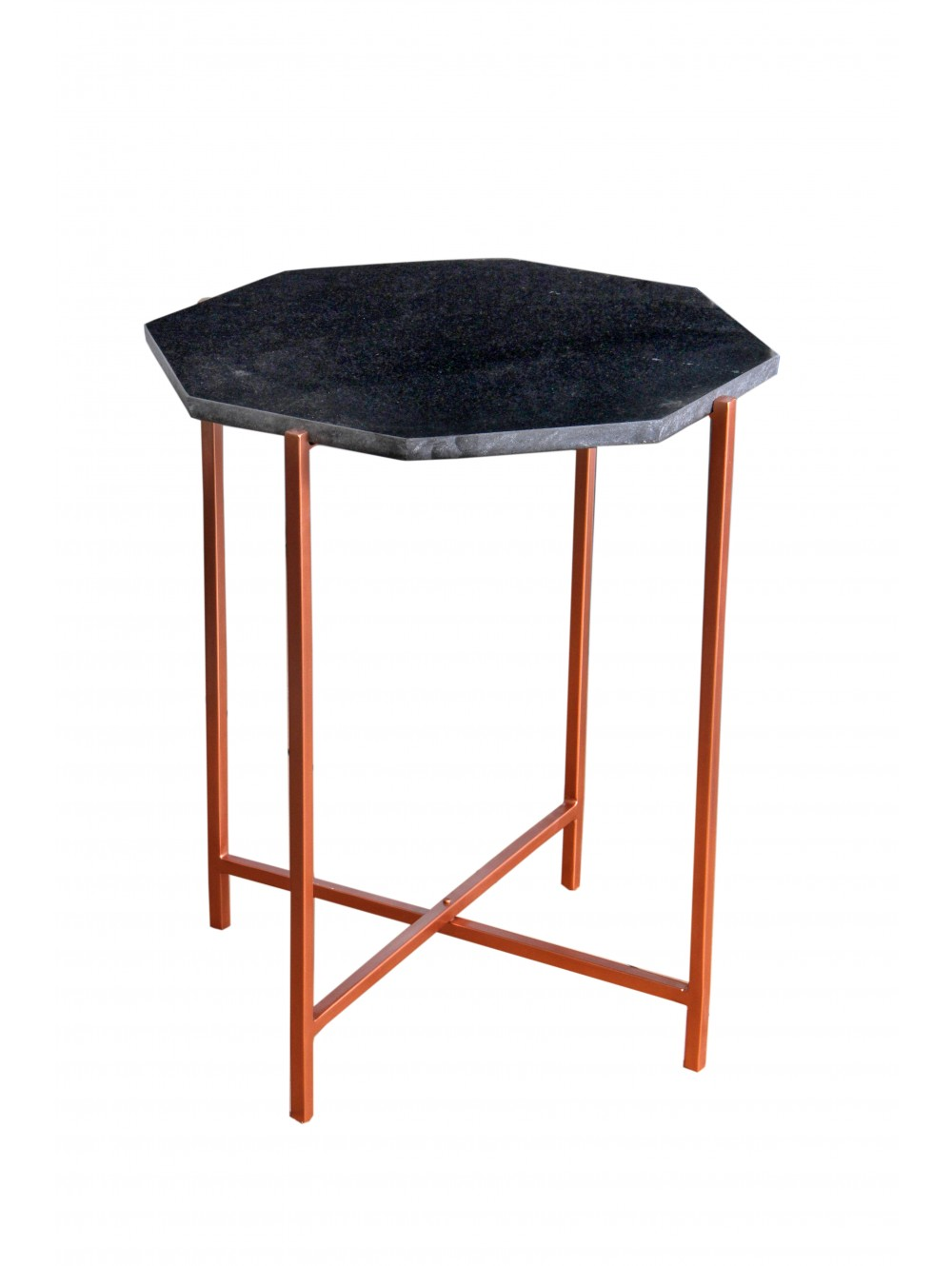 designer love copper table mario side hexagon zebi accent hexag lulu home furnishings edmonton chairs for living room slim lamp gloss wooden cooler hobby lobby console end