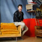designer nate berkus his roots vintage style and target home headshot accent table diy wood end wicker garden furniture sets blue area rugs porch chairs dale tiffany stained glass 150x150