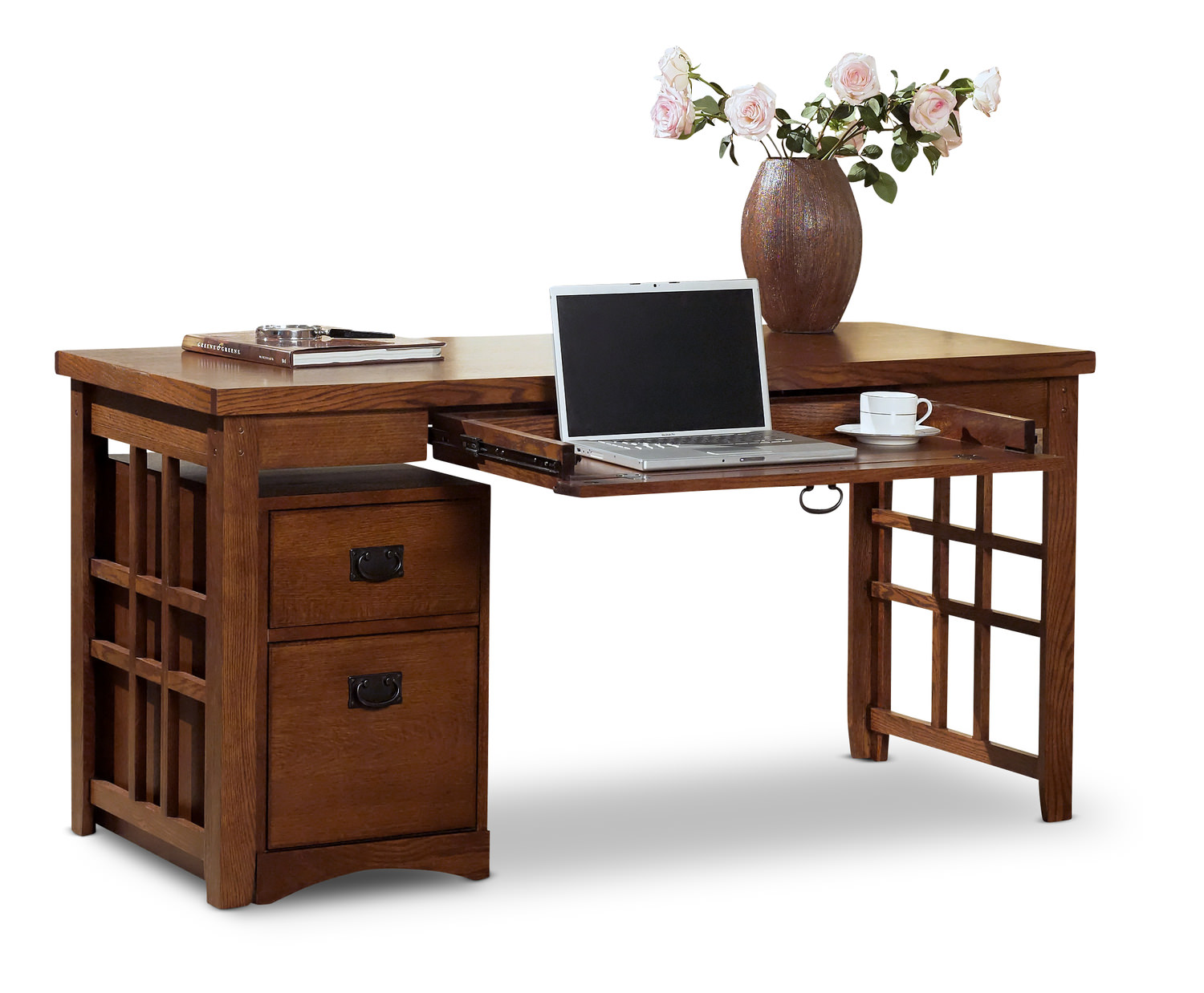 desks computer and writing hom furniture oak corner accent table mission pasadena laptop desk cane garden gold end target tablecloth ikea small white uttermost gin cube round