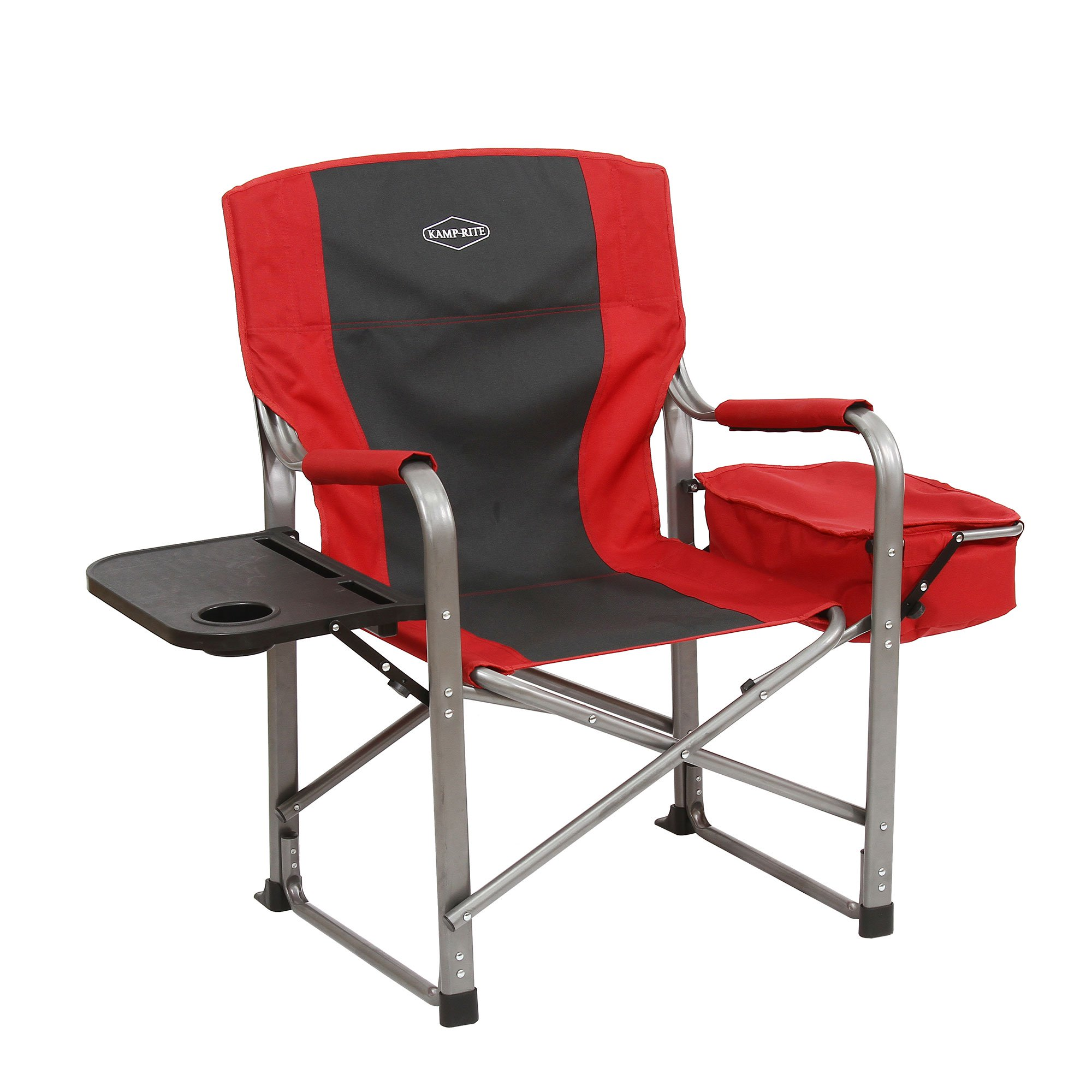 details about kamp rite outdoor camp folding director chair with side table cooler red resource ashx piece nesting set bedside lamps outside patio cover kenroy home accent chairs