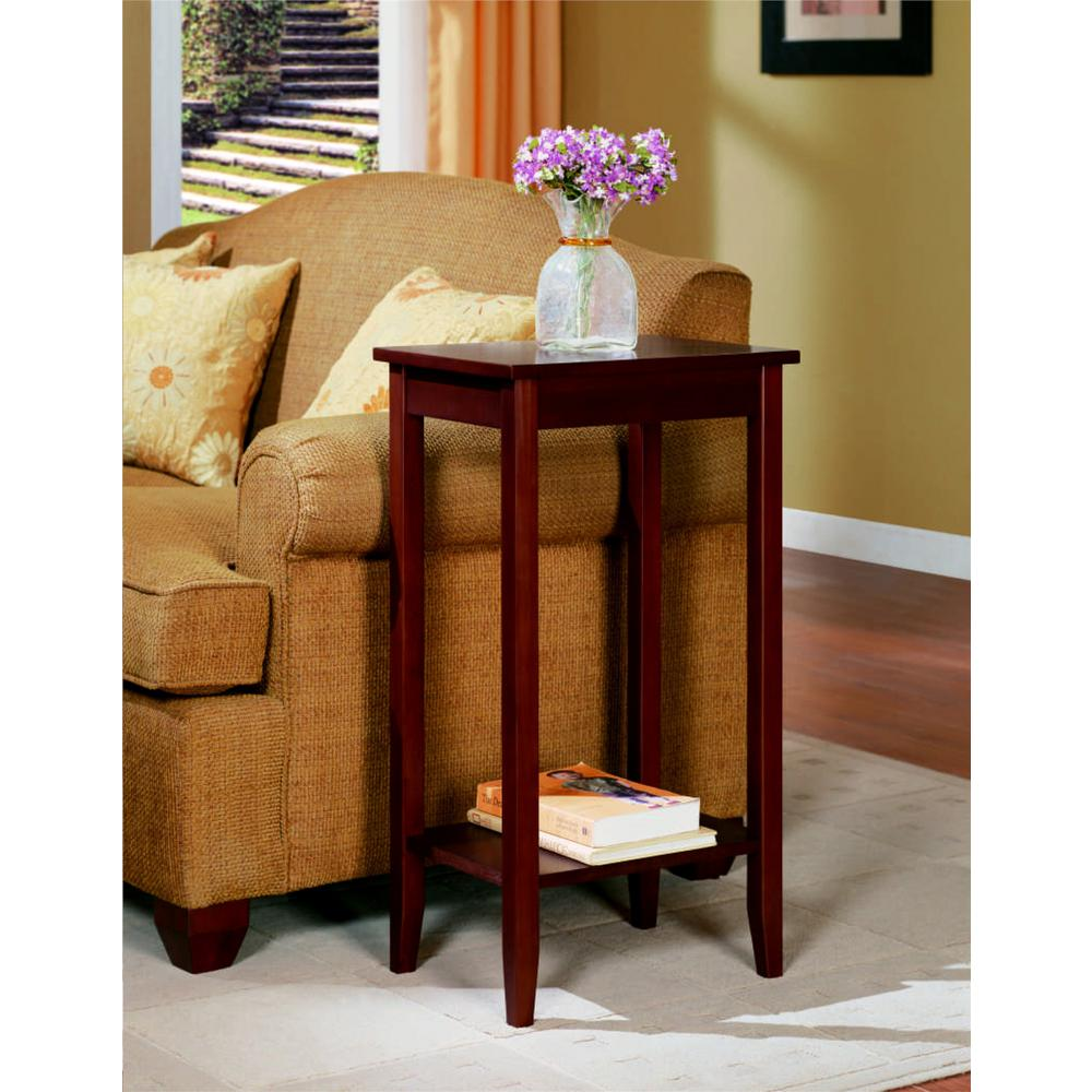 dhp rosewood coffee end table the tables accent clearance patio furniture sets rechargeable lamps for home counter height sofa with console white living room chairs matching ikea