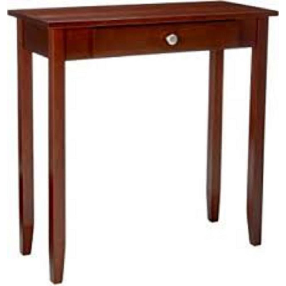dhp rosewood console table the coffee tables accent plastic nic half round side height decorative battery lamps clearance patio furniture sets turquoise bedside blue linens grey