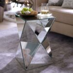 diamond mirrored accent table zoom pier tables sytecorp circular glass side round dining for lamp small dresser lamps half moon rustic wine rack home ornaments front hall one 150x150