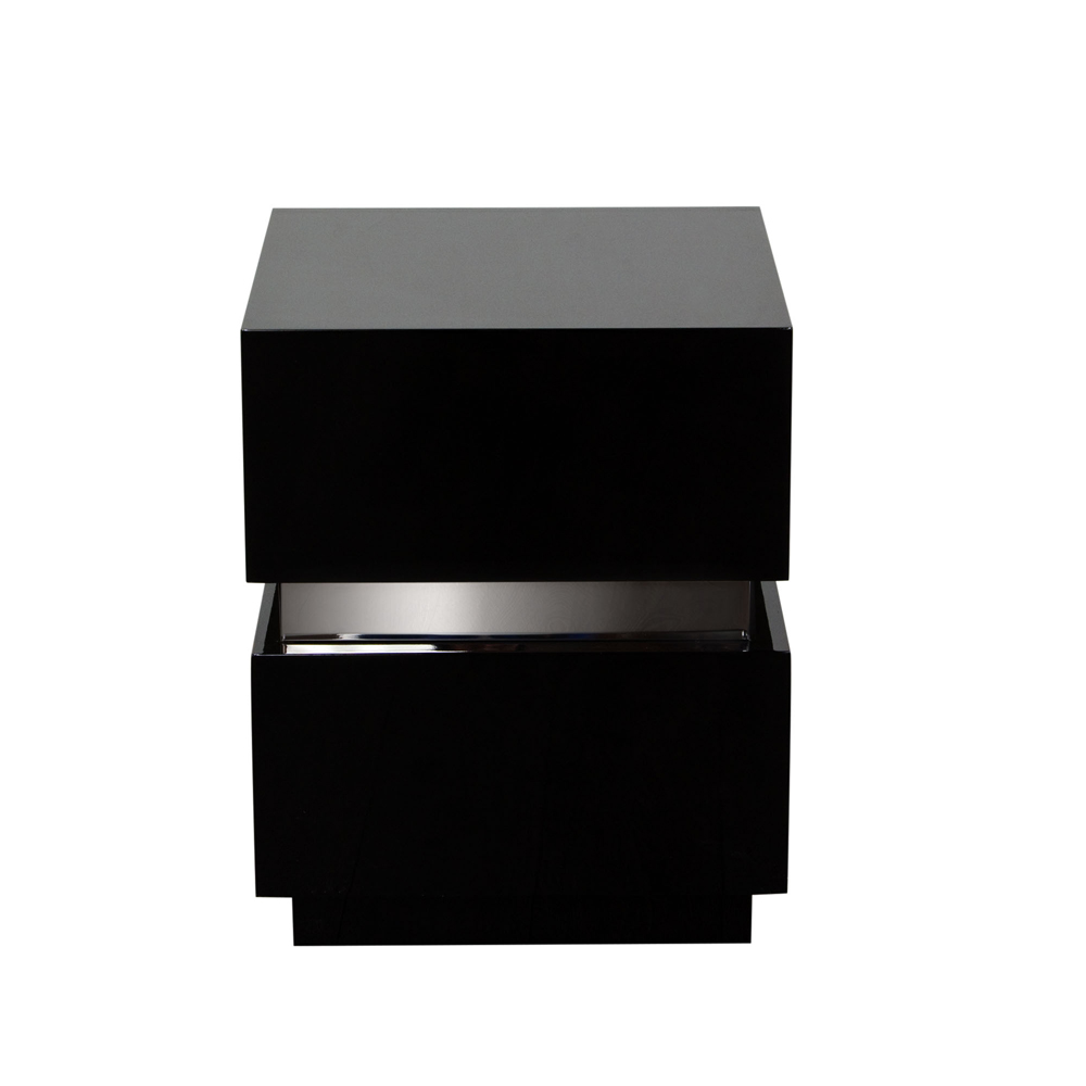 diamond sofa elle drawer accent table high gloss black ellensbl hover zoom home decor with folding sides rustic lamps outdoor daybed concrete pottery barn modern nest coffee