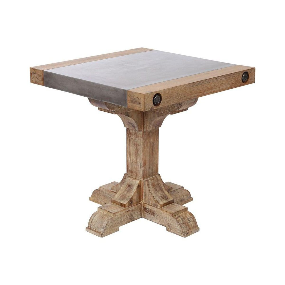 dimond home pirate concrete and wood accent table modish tap expand kitchen work pearl drum throne pier imports patio furniture living room cabinets vanity round metal coffee