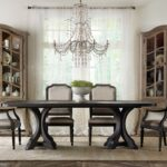 dining chair table and chairs hooker seven seas cushion covers furniture accent wingback bernhardt french provincial pieces for room full size contemporary set black perspex 150x150