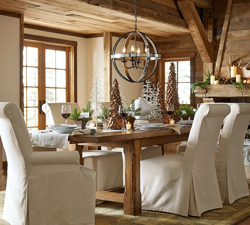 dining pottery barn chairs entertain your family and printed rectangle kitchen table with bench play narrow tables leaves manhattan chair cus flower accent dale tiffany glass