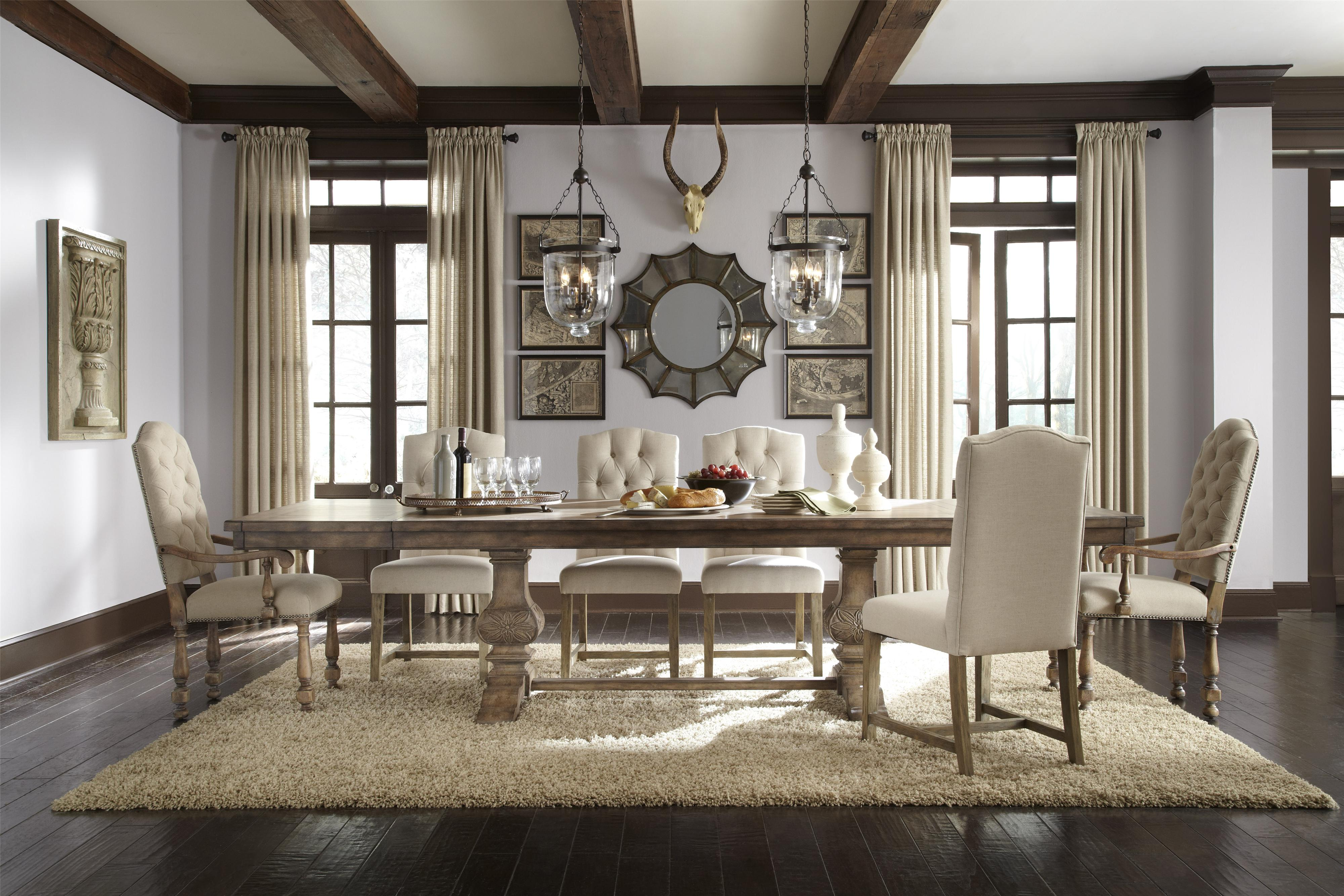 dining room accent furniture house decorations garden coffee table sets round top high wood leg extenders bar height lamps for living umbrella tablecloth the uttermost company