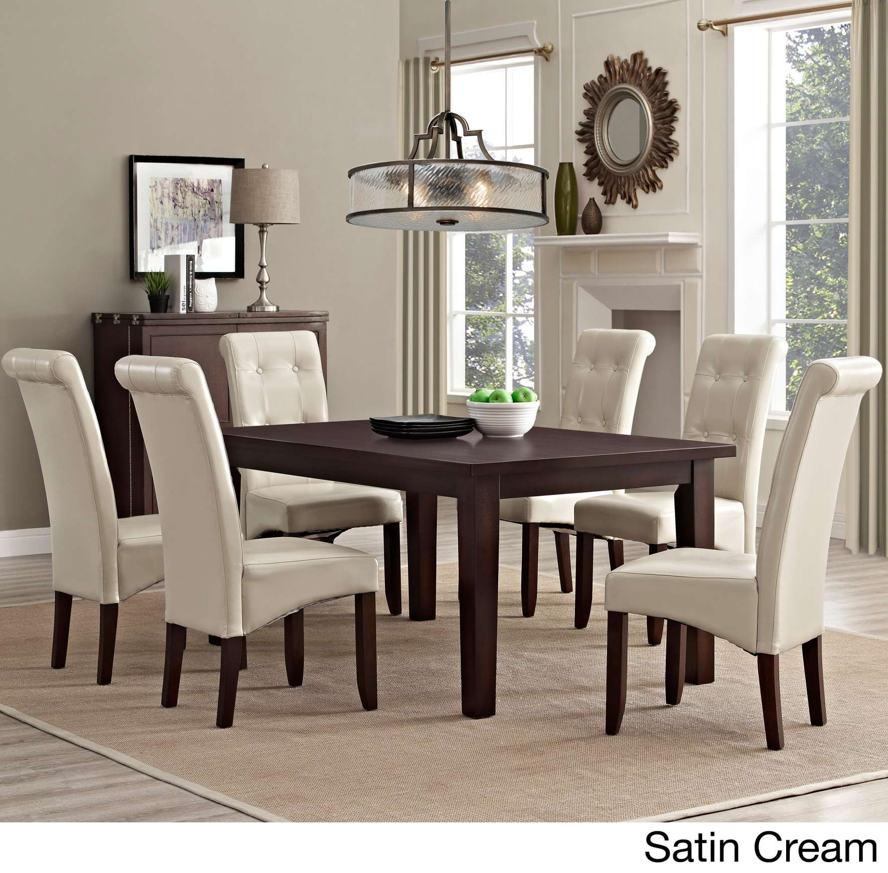 dining room accent pieces also small wall decor ideas meilleur scpi wyndenhall piece set free shipping table slim glass pottery barn gift registry antique nightstands plant stand