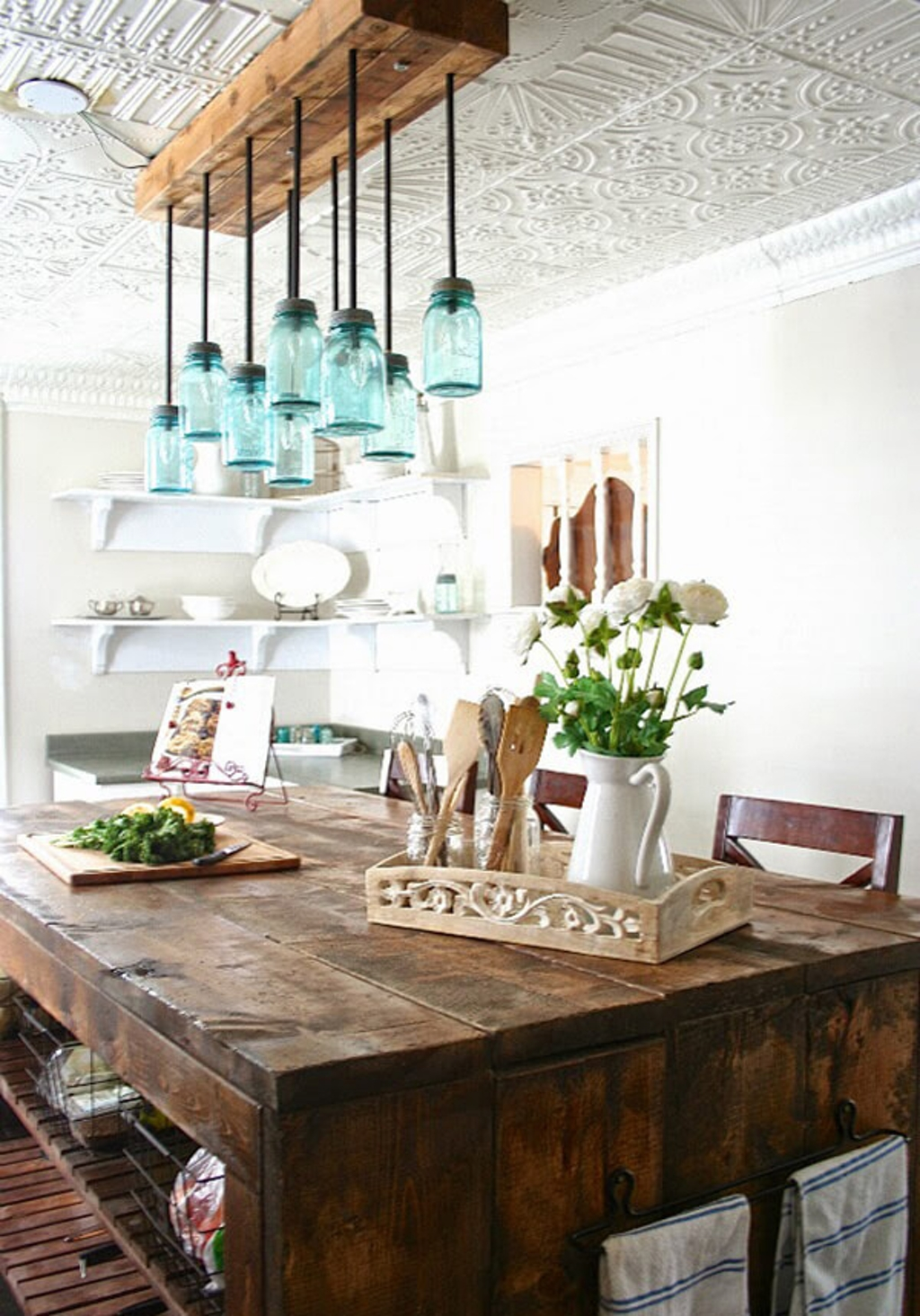 dining room diy farmhouse table with rustic accents calmness style and vintage materials ideas tripod pottery barn hammock white lift top coffee ikea cabinets chests drawers