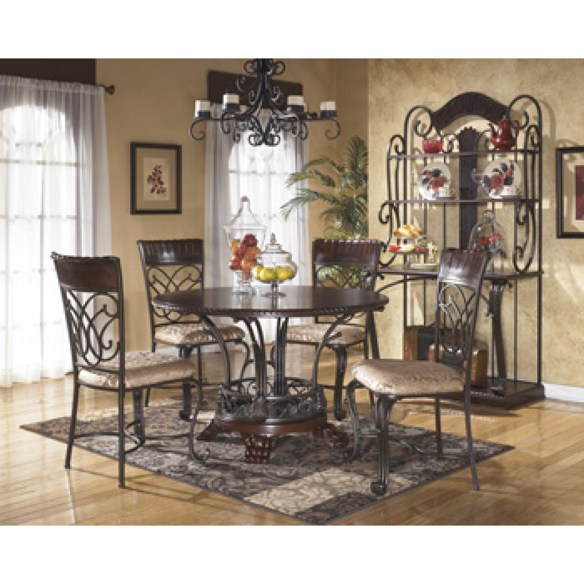 dining room set ashley furniture table and chairs tables furniturepiece living buffets high quality accent full size dale lamp wood farm counter height tall mirrored dresser low