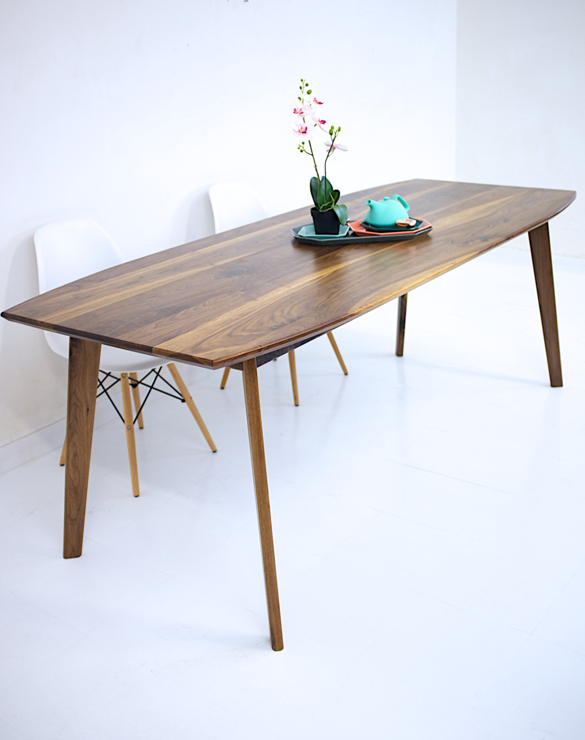 dining table walnut modern wood etsy fullxfull zoey night accent with baskets new home decor ideas mosaic kohls corner drawers small armchairs for living room hobby lobby sofa