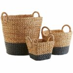 dippy gray natural wicker baskets pier imports storage accent table black round end white cocktail side units for living room battery operated dining light small with folding 150x150