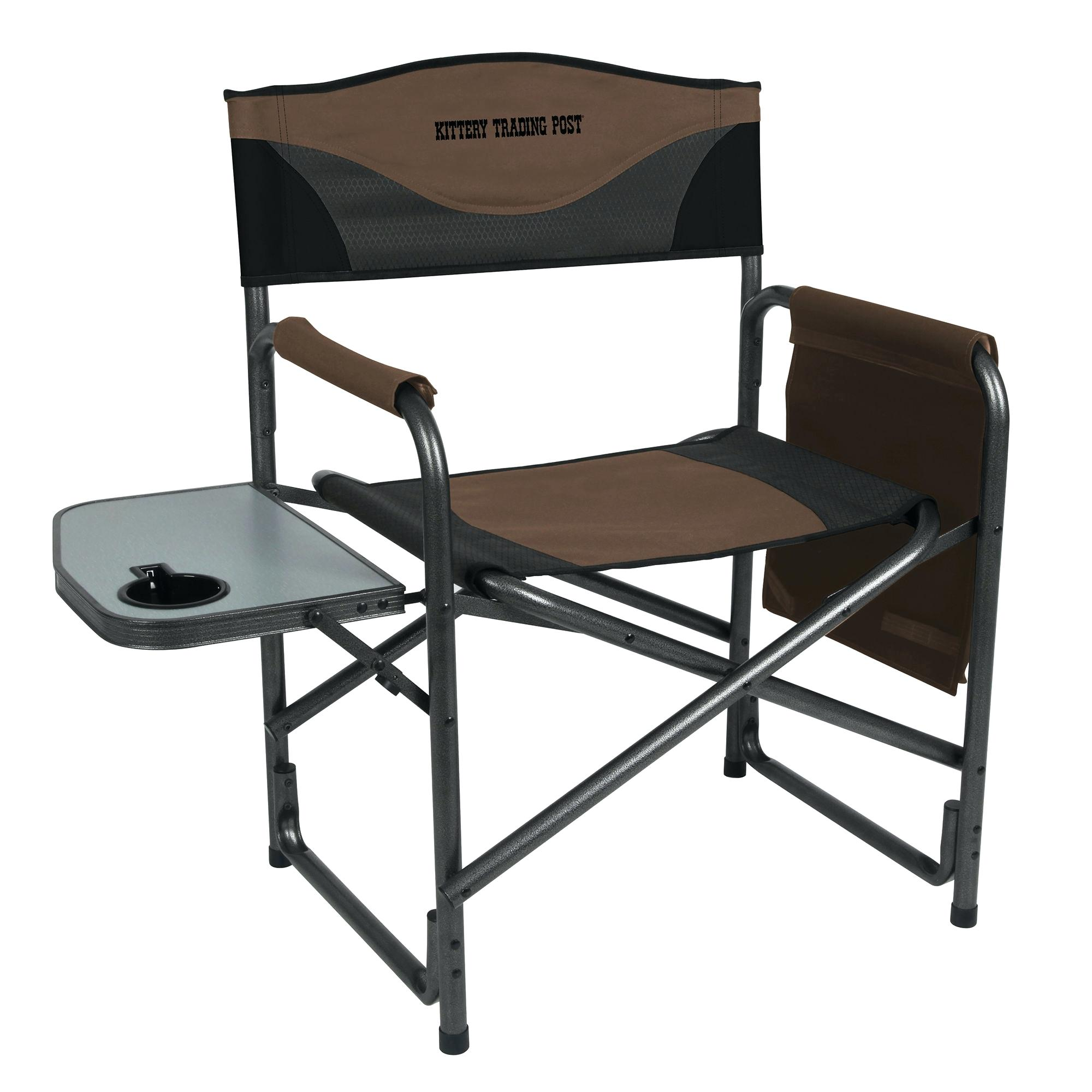 director chair directors with side table and cooler craftycow portal aluminum trading post logo folding outdoor lawn chairs thin coffee kids reading nook hall console accent