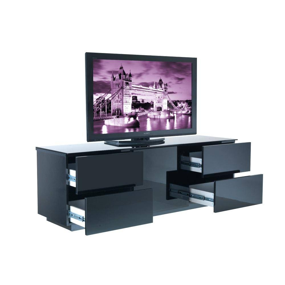displaying gallery black high gloss corner unit view stand white intended for shelf accent tables narrow depth shelving dvd cabinet with glass doors kitchen counter acrylic panels