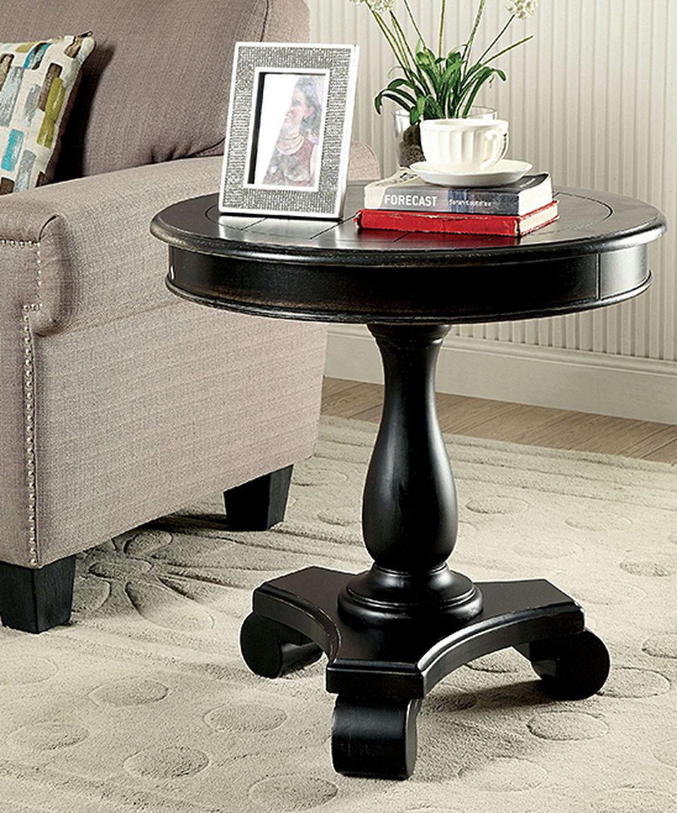 distressed black tables small tall antique glamorous round pedestal large oak diy end wood accent table charming bedside unfinished full size vitra eames chair replica mirrored