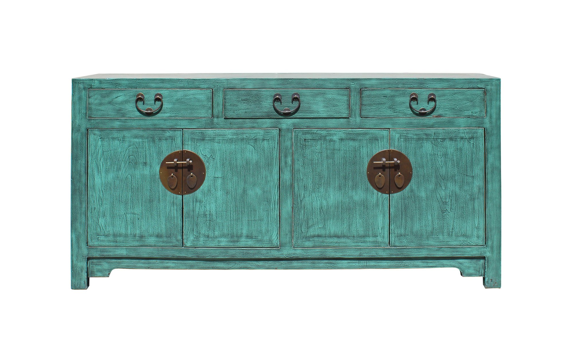 distressed teal blue wood pattern sideboard console table etsy fullxfull accent modern living room coffee farmhouse sliding door inch furniture legs nautical pendant with shelves