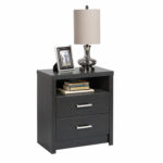 district drawer tall nightstand with open cubbie prepac hdnh propped accent table white manufacturing antique stand ikea box little outdoor drop leaf set west elm marble console 150x150