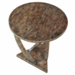diverting round accent lynn haven particular uttermost pandhari table grey and white coffee beverage cooler side spring collection kitchen vanity rose gold bedside lamp mid 150x150